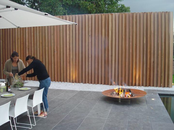 La cl ture de jardin en bois for Moderne afsluiting tuin