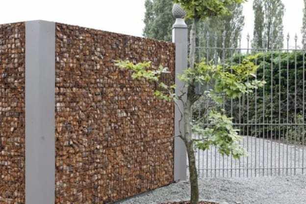 Types de clôtures de jardin